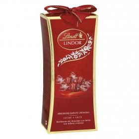 Bombones de chocolate con leche Lindt Lindor 225 g.