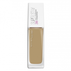 Maquillaje Super stay 24h nº 49 Amber beige Maybelline 30 ml.