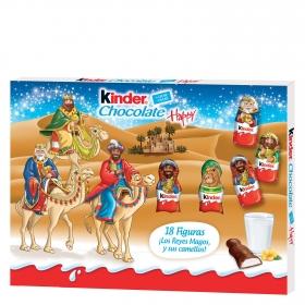 Kinder chocolate reyes magos