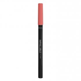 Perfilador de labios Infalible Lip Liner nº 201 Hollywood Beige L'Oréal 1 ud.