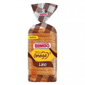 Pan de molde Omega 3 Lino