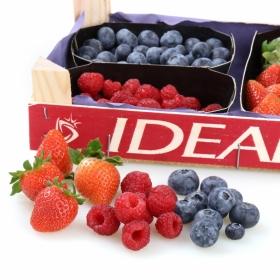 Surtidos de fresas y frutos rojos Carrefour 1ud.