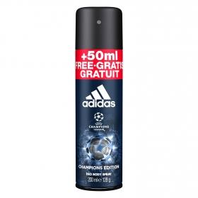 Desodorante spray UEFA Champions para hombre