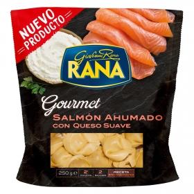 Tortellini Rana de salmón ahumado y queso  gourmet 250 g.