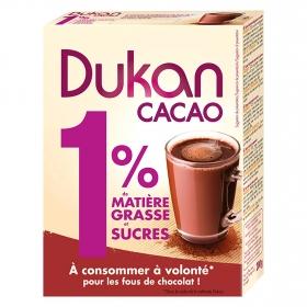 Cacao en polvo 1% materia grasa y azúcar