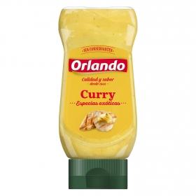 Salsa curry Orlando envase 245 g.