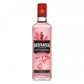 Ginebra Beefeater Pink premium strawberry 70 cl.