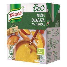Puré de calabaza con zanahoria ecológico Knorr 300 ml.