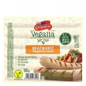 Bratwurst vegetariana Campofrío - vegalia 200 g.