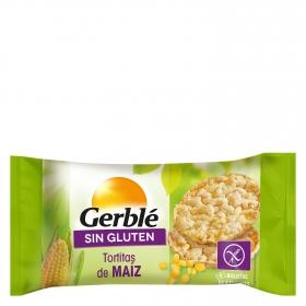 Tortitas de maíz Gerblé sin gluten 130 g.