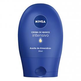 Crema de manos cuidado intenso Nivea 30 ml.