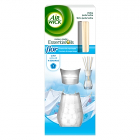Ambientador varillas frescor superior flor Air Wick 30 ml.