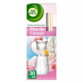 Ambientador de varitas perfumadas flor de cerezo