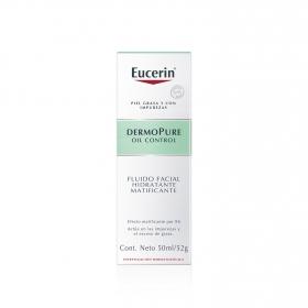 Fluido facial hidratante matificante  DermoPure