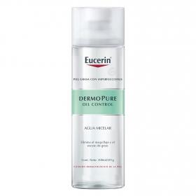 Agua micelar DermoPure Eucerin 200 ml.