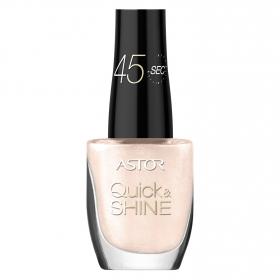 Esmalte de uñas Quick & Shine nº 523 Frozy White Astor 1 ud.