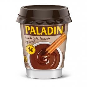 Chocolate a la taza vaso