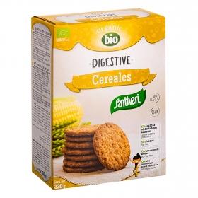 Galletas Digestive cereales bio sin lactosa