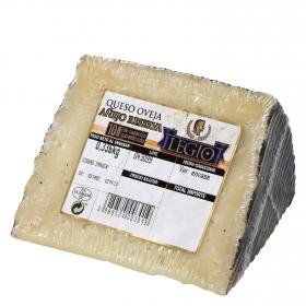 Queso puro de oveja añejo reserva Legio cuña 1/8, 300 g aprox