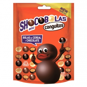 Mini shocobolas sin gluten