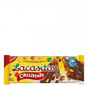 Tableta de chocolate crujiente