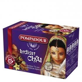 Té exótico con aromáticas especies Indian Chai