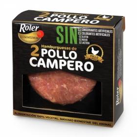 Hamburguesa de Pollo Campero Sin Aditivos Roler  (2x120g) 240 g
