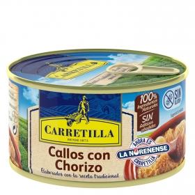 Callos con chorizo Carretilla 380 g.