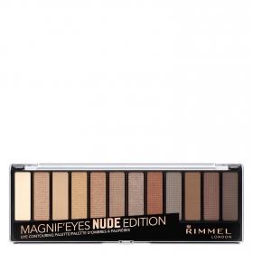 Paleta de sombras Magnif'eyes Nude Edition nº 001 Rimmel 1 ud.