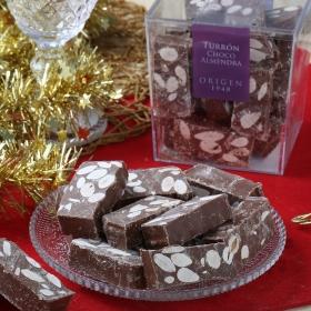 Turrón Chocolate y Almendra origen 1948 Unión Mels 400 g