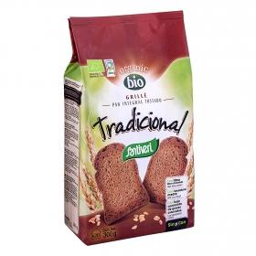 Pan grillé integral tostado tradicional bio