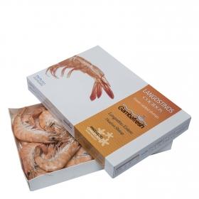 Langostinos cocidos Gambafresh 800 g.