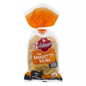 Baguette mini Viena integral La Boulangere 220 g.
