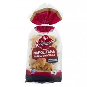 Napolitana con chocolate