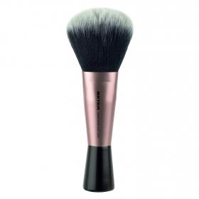 Brocha gruesa maquillaje en polvo de pelo sintético
