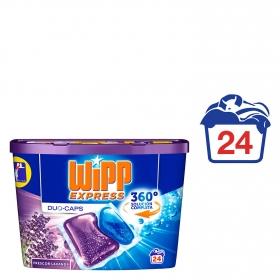 Detergente en cápsulas Duo Wipp Express 24 ud.