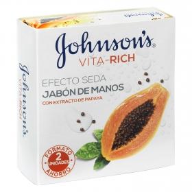 Jabón de manos con extracto de papaya Vita-Rich