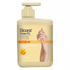 Jabón de manos líquido Urban Fit Vitamina E mango y aceite de aguacate