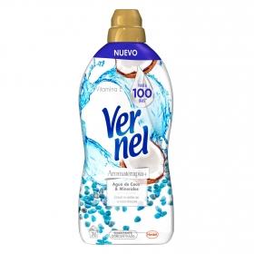 Suavizante concentrado Aromaterapia Vernel 76 lavados.