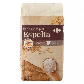 Harina de espelta integral Carrefour 1 kg.