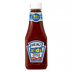 Ketchup kids 50% menos de azúcar y sal