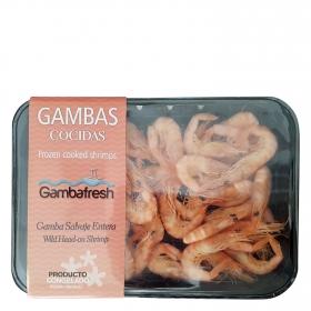 Gambas cocidas Gambafresh 250 g.