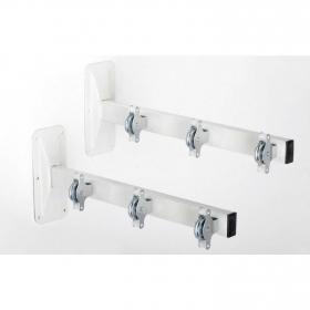 Tendederos de balcón de Acero 2 Tenderfill 48cm - Blanco