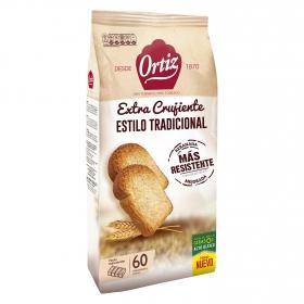 Pan tostado tradicional Ortiz300 g