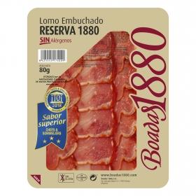 Lomo embuchado reserva Boadas 1880 sin gluten 80 g,