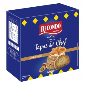 Tapas del chef con nueces Recondo 110 g.