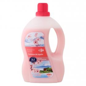 Detergente cerezas de Japón líquido Carrefour 40 lavados.