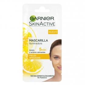 Mascarilla iluminadora con limón para pieles apagadas
