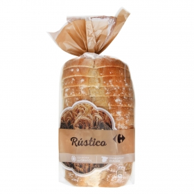 Pan rústico Carrefour 450 g.