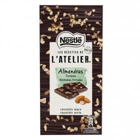 Chocolate negro con almendras tostadas Nestlé 115 g.